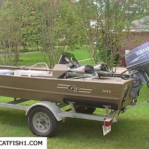 G-3 catfishing boat