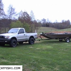 Chestdeeps Boat and truck
